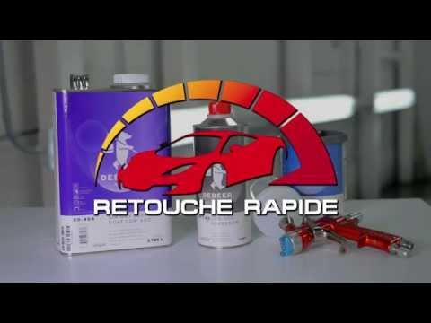 Retouche Rapide - Réparation de peinture auto localisée