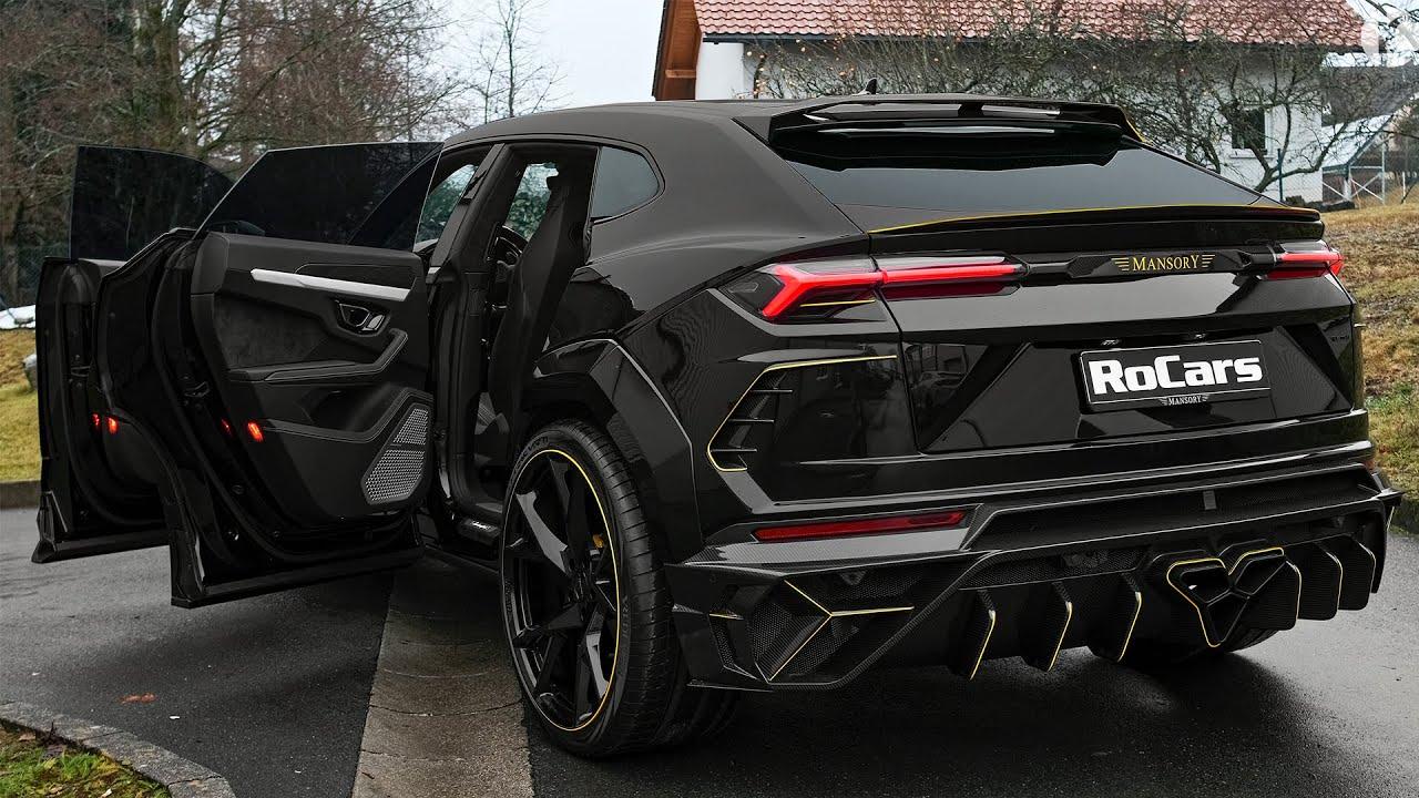 2021 Lamborghini Urus VENATUS - WILD Super SUV from MANSORY!