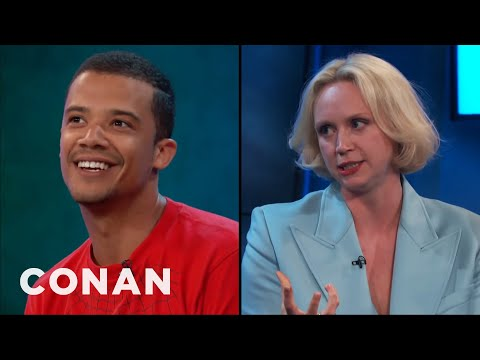How Jacob Anderson & Gwendoline Christie Deal With Spoilers  - CONAN on TBS