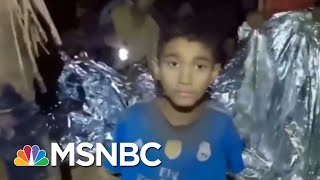 Rescue Teams Race Against Monsoons To Save Thai Soccer Team | Velshi & Ruhle | MSNBC