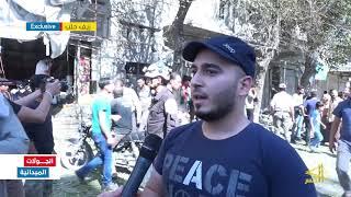 جرحى بانفجار دراجة نارية ملغمة وسط مدينة الباب بريف حلب