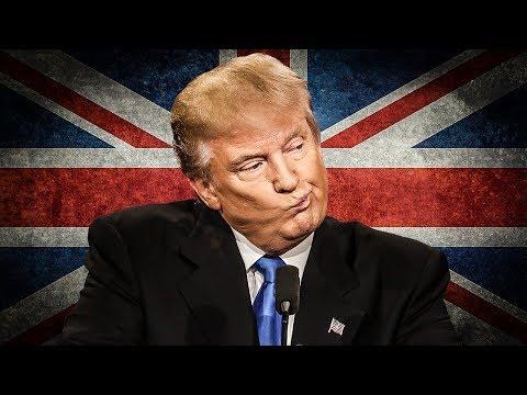 Trump Postpones Trip To UK Because He's Afraid Of Protestors - The Ring of Fire