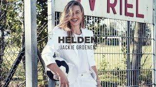 Helden #41: Jackie Groenen poseert als model in Helden #41
