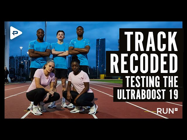 TRACK RECODED - Testing the UltraBOOST 19 with adidas Runners London