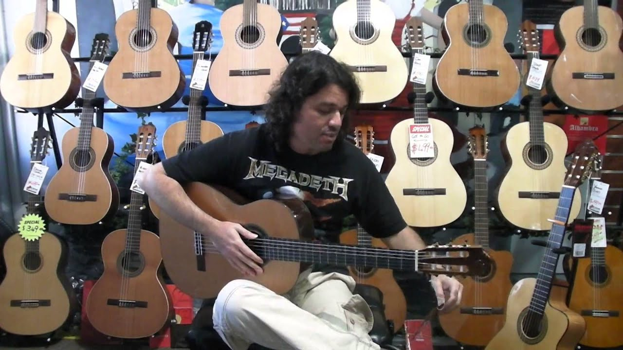 camps guitars flamenco vs classical with loop control youtube