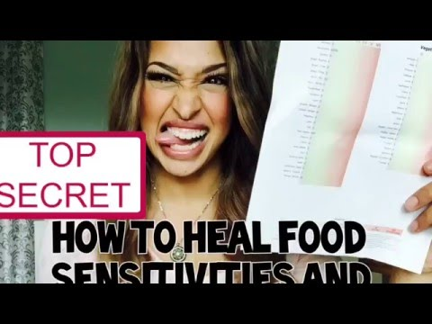 How to Heal Food Sensitivities and intolerances, protocol may work for eczema & asthma!