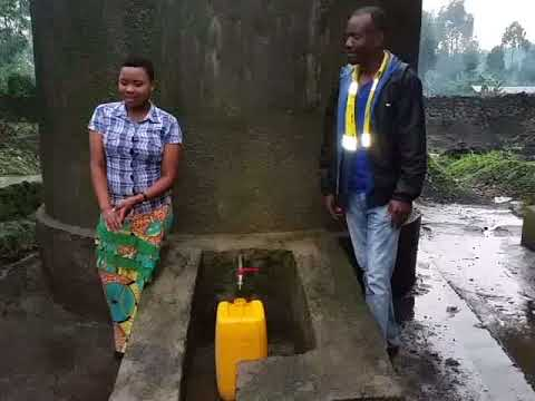 ALARM Congo, Kibumba & Buhumba water project