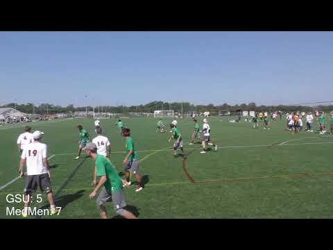 Garden State Ultimate vs Baltimore Medicine Men | 2017 Mid Atlantic Regionals Bracket Play