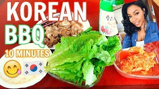 How To Cook Korean BBQ In 10 Minutes (easy AF!)