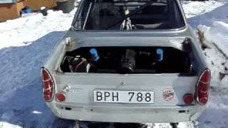 BMW 700 Sport starting up