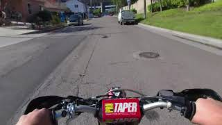 Moto VR180 POV Street Test