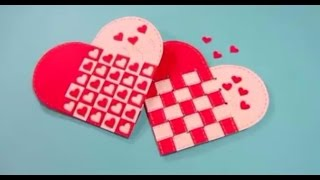 How to Make Twisted Heart Card - Valentine