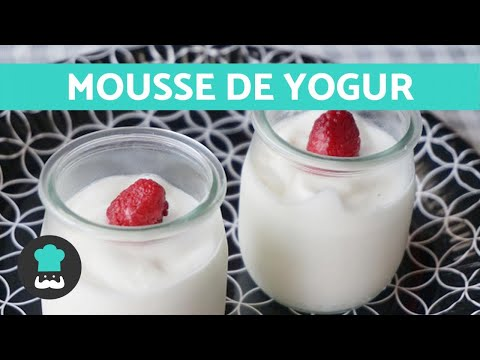 Mousse de yogur - Receta FÁCIL y LIGHT