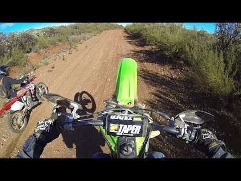 Extreme dirt biking! (Road Rage!!!)