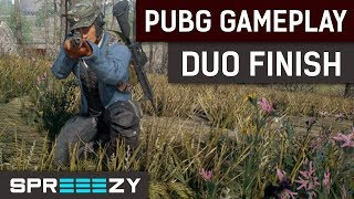PUBG Sniping Finish Duo Game /w SirSurvivor