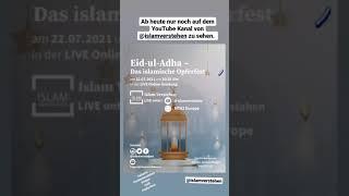 #Eid-ul-Adha - Das islamische #Opferfest #islam #shorts