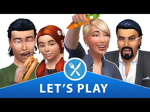 Let's Play The Sims 4 DINE OUT | Part 1