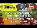 БЕСПЛАТНЫЕ ФОТО, 🚔 ВИДЕО, ИКОНКИ, ВЕКТОРЫ, ИЛЛЮСТРАЦИИ, ИЗОБРАЖЕНИЯ. Creative Commons. СС. free