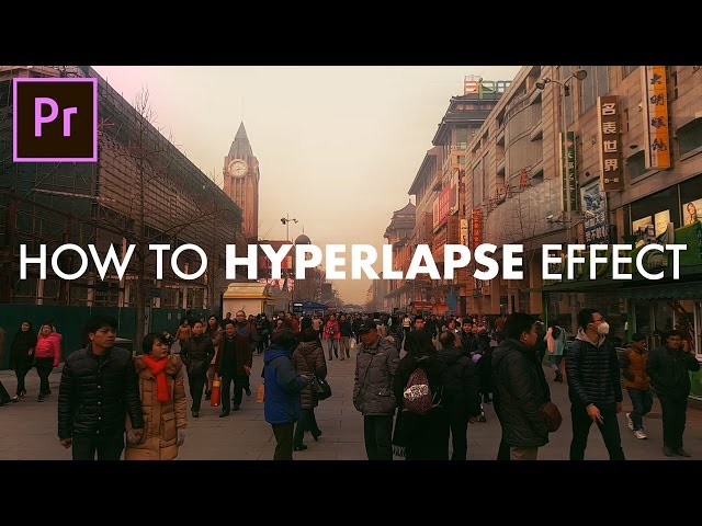 How to Fake HYPERLAPSE Time Lapse Effect in Adobe Premiere Pro! (CC 2017 Tutorial) (SUPER EASY!)