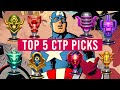 Top 5 Character Picks for Each CTP - Marvel Future Fight