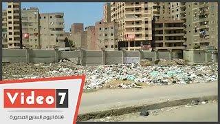 تلال القمامة تحاصر منطقة عرابى بإمبابة وسط تجاهل مسئولى الحى