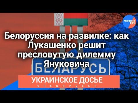 Украинское досье: Белоруссия на развилке: как Лукашенко решит пресловутую дилемму Януковича