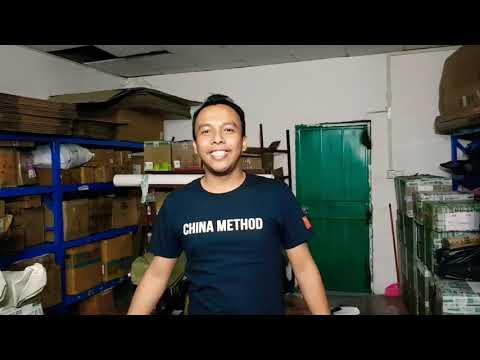 LIVE dari Warehouse ChinaMethod di Guangzhou, China