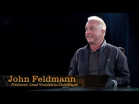 Producer and Goldfinger lead vocalist, John Feldmann - Pensado's Place #124