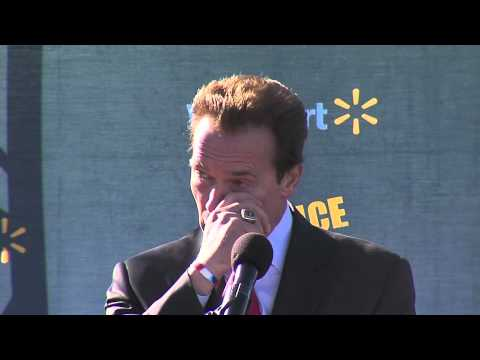 Veterans Day 2010 Arnold Schwarzenegger Speech
