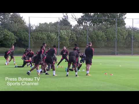 Arsenal Training pre Cologne