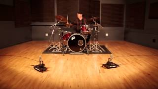 The Tone Tank - Robot Mic Stand In Action On Stereo Drums - Twice The Power!