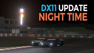 rFactor 2 DirectX 11 Night Time POV and TV (Nissan GT500 @ Suzuka) - Studio 397 DX11 Update