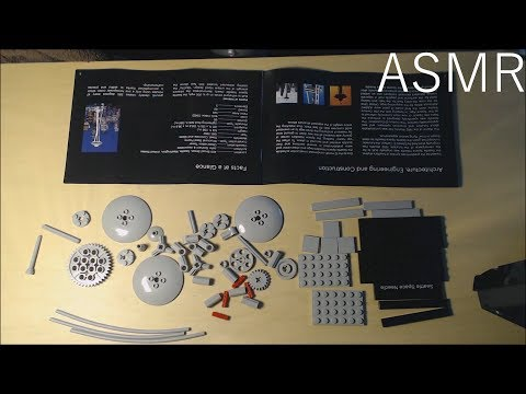 ASMR | Lego Seattle Space Needle Build (Relaxing Building, Whispering)