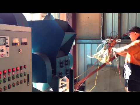 ENERPAT COPPER CABLE GRANULATOR IN AUSTRALIA