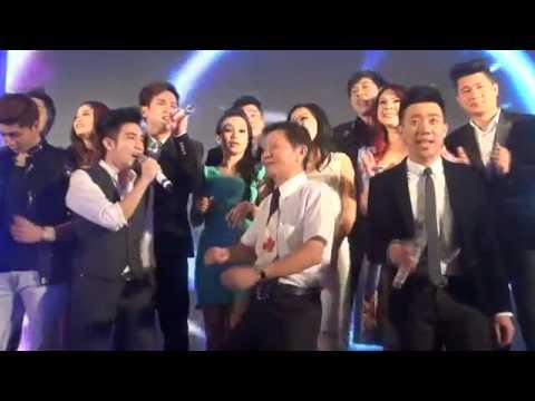 Nghệ sĩ hát mừng đám cưới Đan Trường và Windy Thủy Tiên