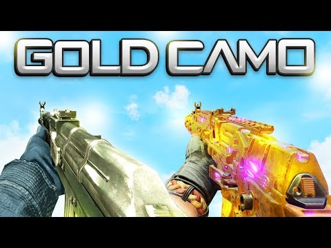 GOLD CAMO in Every Call of Duty