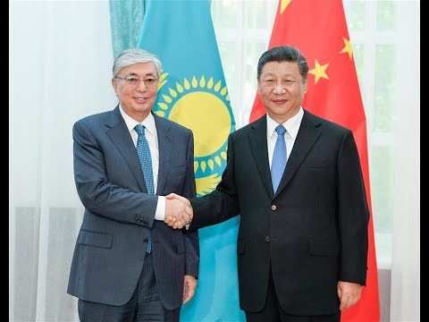 Chinese, Kazakh presidents bolster ties