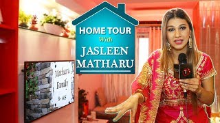 Home Tour With Jasleen Matharu | Bigg Boss 12 | Telly Reporter Exclusive