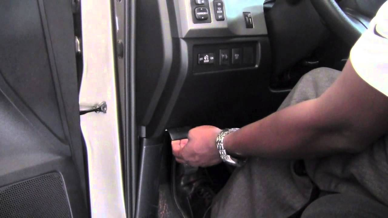 2005 Tacoma Fuse Box 2012 Toyota Tundra Hood Release How To By