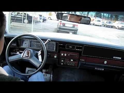 Test Drive the 1990 Chevrolet Caprice Classic (Start Up, Engine, Tour)