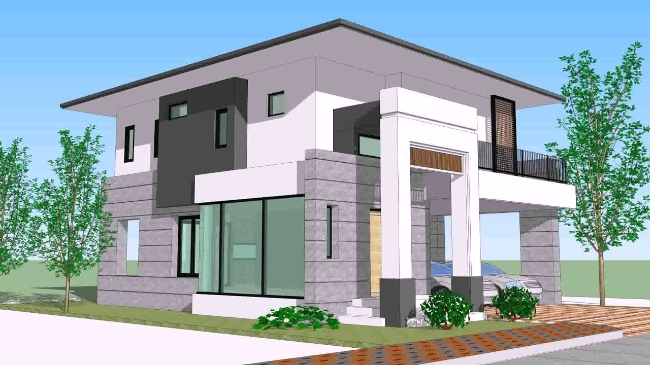 Small House Designs In Thailand Daddygif Youtube