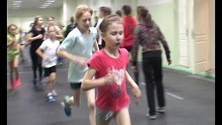 Соревнования по легкой атлетике среди детей