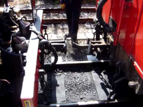 Isle of Man Steam Railway - Train Coupling up at Port Erin