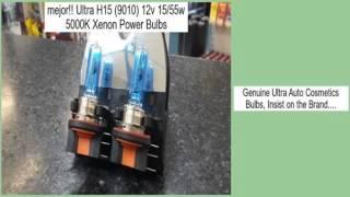 ultra h15 9010 12v 15 55w 5000k xenon power bulbs opiniones