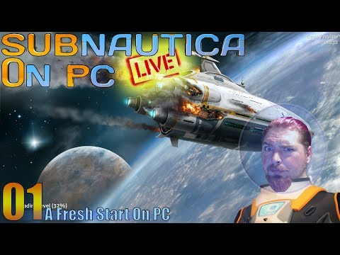 Subnautica Live - On PC - Wreck Searching For Treasure