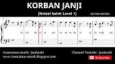 Korban Janji Guyon Waton Not Balok Piano Level 1 Doremi Solmisasi Youtube