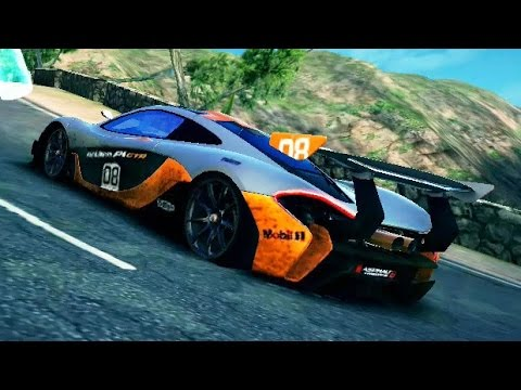 asphalt 8 mclaren p1 gtr cloud nine 1 youtube. Black Bedroom Furniture Sets. Home Design Ideas
