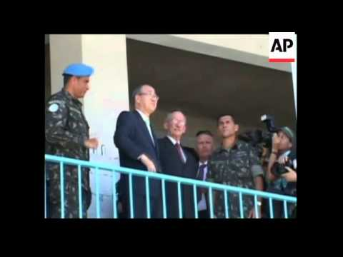UN Secretary General wraps up two day visit with tour of Cite Soleil