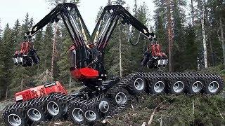 Mesin Pemotong Pohon Raksasa Tercanggih di Dunia, Teknologi ekstrim Tercepat di Dunia