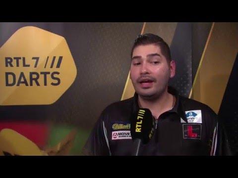 World Darts Championship 2016 Jelle Klaasen interview